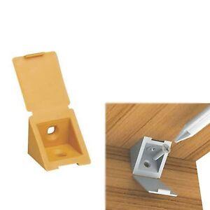 Corner Connecting Shelving Fixing Blocks Shelf Support Bracket Plastic Plinth