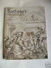 SOTHEBYS AUCTION CATALOG: Books, Prints, Drawings (Milan) 6/12/06
