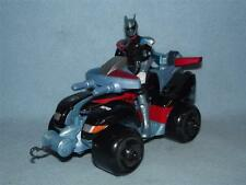 "POWER RANGERS SPD ""SHADOW"" ATV QUAD CYCLE BIKE WITH RANGER"