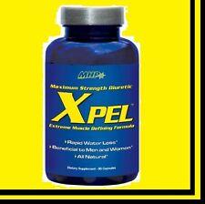 MHP X-PEL Water Release Pill 80 Cap Xpel Free Ship