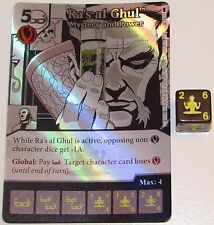 Foil RA'S AL GHUL: MYSTERY AND POWER 28/124 Batman Dice Masters DC