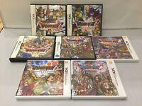 Dragon Quest 4 5 6 7 8 9 11 IV V VI VII IX Warrior Nintendo NDS Games NTSC-J DS