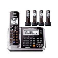 Panasonic KX-TG7875S 5 Handset Cordless Phone W/ Digital Answering System