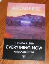 Arcade Fire Everything Now Poster 2-Sided Promo Original 11x17