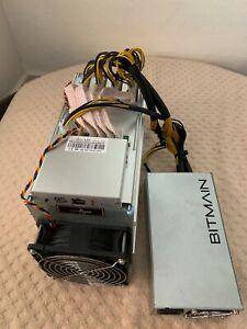 new antminer l3+ original box/firmware/power, scrypt (ltc, doge) 504MH