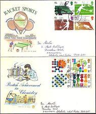 Juego Completo Ilustrado 1977 conmemorativa primer día cubre Bognor Regis PM.