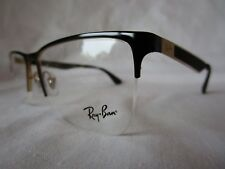 RAY BAN EYEGLASS GLASSES FRAME RX6335 2890 GOLD BLACK 54-17-145 NEW & AUTHENTIC
