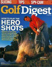 1998 Golf Digest Magazine: Hank Haney/How to Play the Hero Shots/Water Shot