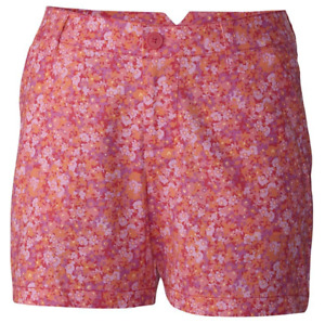 New With Tags! Columbia Women's Kenzie Cove Pink Shorts Size 4 Ins 4 $45 Retail