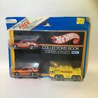 HOT WHEELS 1981 COLLECTORS CATALOG BOOK W/ 3 Promotional Cars VERY RARE VINTAGE