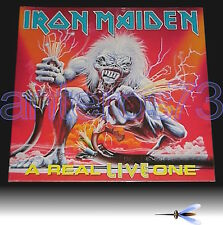 "IRON MAIDEN ""A REAL LIVE ONE"" RARE LP GATEFOLD '93 MADE IN ITALY - MINT"
