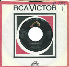 Della Reese:Blow out the sun/I love you so much it hurts:US RCA: Northern Soul