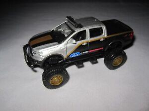 Maisto 2019 Ford Ranger 4x4 Truck silver & black 1:40