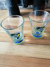 Brasil Shot Glass Lot 2