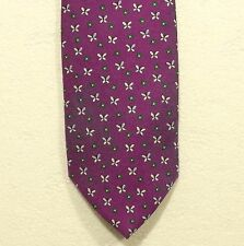 """BROOKS BROTHERS 346 butterflies silk tie made in the USA width 3.25"""""""