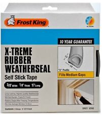 NEW FROST KING V25GA GREY ADHESIVE X-TREME FOAM WEATHER STRIPPING 1/4