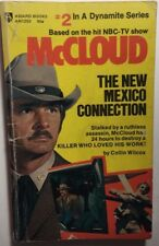 McCLOUD #2 The New Mexico Connection by Colin Wilcox (1974) Award TV pb 1st