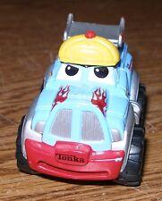 Maisto Tonka Lil Chuck & Friends Die-Cast Truck Light Blue Rare Race Car Hauler