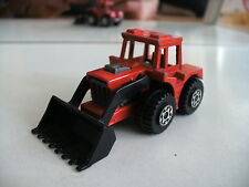 Matchbox Superfast Tractor Shovel in Red