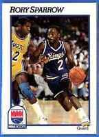 1991-92 Hoops Rory Sparrow Sacramento Kings #186 746