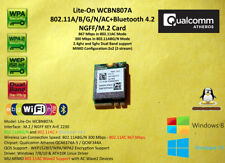 Atheros QCA6174A-5 M.2/NGFF KEY A+E 802.11AC 867mbps Wifi+Bluetooth 4.2 LiteOn