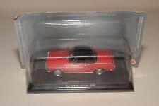 FF 1:43 ALTAYA IXO HACHETTE FIAT 1600 S CABRIOLET 1965 RED MIB