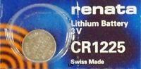 CR1225 RENATA WATCH BATTERIES BR1225 EBR1225 ECR1225 5020LC New AuthorizedSeller