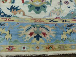 9'x12' New hand knotted wool Fine Stunning Turkish Oushak Oriental area rug