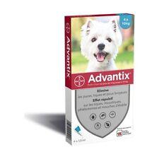 Advantix - Antiparasitaire Petit Chien - (4-10 kg) - 6 pipettes