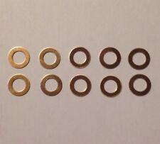10 contacts onduflex COPPER CONTACTS lampe JIELDE 10 Rondelles de glissement