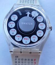 SWATCH GENT GENT CALLING THE PAST - GK306 - with Strap GK726 CALENDAR YEAR 1998