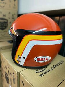 Ducati Scrambler Casque Jet Orangetrack 981033503 - Helmet Scrambler Bell