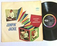 JACKIE DAVIS Jumpin' Jackie 1958 Swing Vinyl LP  Capitol Records ‎– T 974 VG/G+