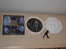 Lord of the rings. BNIB Limited Edition Collectors Plate of 2000. Frodo & Stand.