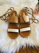 4c6a8cde39e3 Soludos Gladiator Lace Up Sandals for Women