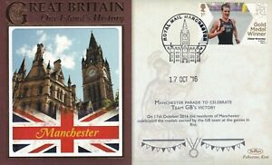 17 OCT 2016 OLYMPIC PARADE IN MANCHESTER BENHAM LE COVER