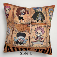 Fairy Tail Anime Manga two sides Pillow Cushion Case Cover