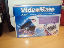 videoMate universal PCI tuner and capture Card