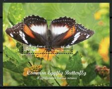 Tonga 2018 MNH Common Eggfly Butterfly Domestic Reg 1v M/S Butterflies Stamps