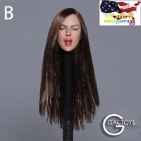 "GACTOYS GC025 B 1/6 Sexy Tongue Female Head Sculpt for 12"" Figure Phicen ❶USA❶"