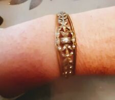 Antique Paste And Metal Bangle