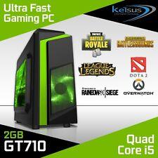 Cheap Fast Quad Core i5 Gaming PC 8GB RAM 1TB HDD Windows 10 Desktop Computer