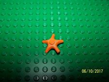 Lego Starfish Qty 1 (X112) - Orange
