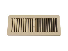 PACK OF 10 Floor Vent  Cover Heating Vent Vents 300x100mm (BEIGE COLOUR)