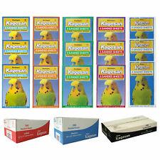 More details for kagesan bird cage sandsheets sand paper sanded sheets hygienic bulk pack 5 sizes