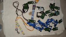 Restposten Auflösung Hunde Halsbänder, Geschirre, Leine  11 teilig NEU