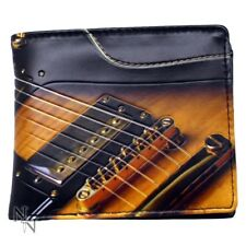 NEW WALLET GUITAR INSTRUMENT MUSIC FOLDING CARDS (not leather) LEATHERETTE