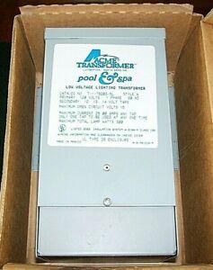 Acme Pool & Spa Transformer T 1-79203-SL 120v 60Hz 1Phase 300w / IOB w/PaperWork