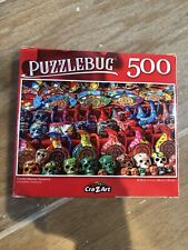🧩 NEW Puzzle- 500 Piece Colorful Mexican Souvenirs Sealed Cra-Z-Art Puzzlebug