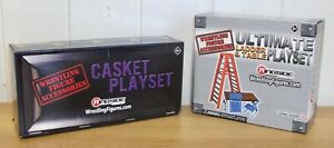 WWE wrestling figure accessories inc. Casket Match & TLC Match
